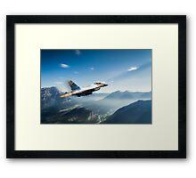 Alaskan Falcon Framed Print