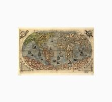 Vintage Map of The World (1565) Unisex T-Shirt
