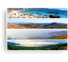 Landscapes from Crete Island, Greece Canvas Print