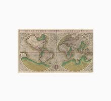 Vintage Map of The World (1607) 2 Unisex T-Shirt
