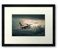 Falcon Soares Framed Print
