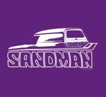 Holden Sandman Panel Van #1 - (BW) by blulime