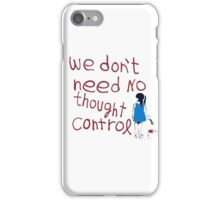 Thought control iPhone Case/Skin