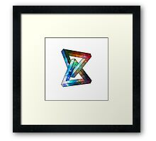 Space Puzzle 2 Framed Print