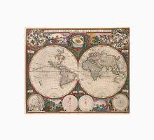 Vintage World Map (1665) 2 Unisex T-Shirt
