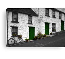 Glenoe Village Canvas Print