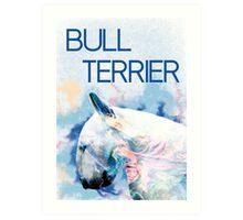 Keep calm, hug a bull terrier  Art Print