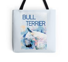 Keep calm, hug a bull terrier  Tote Bag