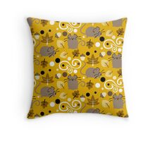 Fall Mice Throw Pillow