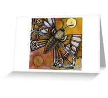 Mothlight Greeting Card
