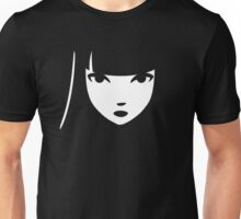 Emily the Strange: Emily's face Unisex T-Shirt