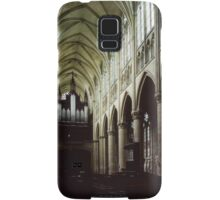 Nave of Cathedral St Etienne Chalons sur Marne France 198405060042 Samsung Galaxy Case/Skin