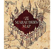 The Marauder's Map Photographic Print