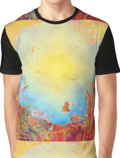 Abstract Peony Graphic T-Shirt