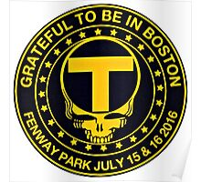 Boston Black & Gold Poster