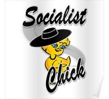 Socialist Chick #4 Poster