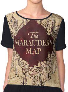 The Marauder's Map Chiffon Top