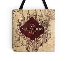 The Marauder's Map Tote Bag