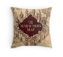 The Marauder's Map Throw Pillow