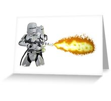 Flametrooper Greeting Card