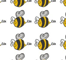 Baby Bumblebee Patter Sticker