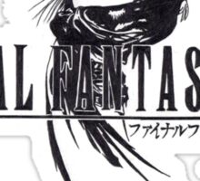 Final Fantasy VIII Logo Artwork Sticker