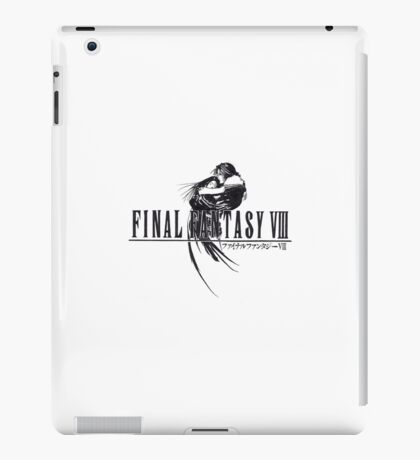 Final Fantasy VIII Logo Artwork iPad Case/Skin