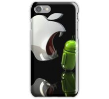 Apple vs Android iPhone Case/Skin