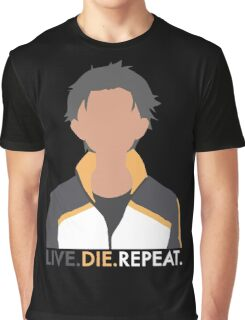 Live. Die. Repeat. Graphic T-Shirt