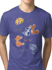 One bird Tri-blend T-Shirt