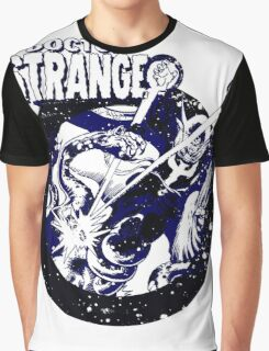 Doctor Strange • Blue & Black Graphic T-Shirt