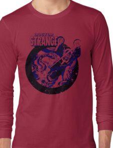 Doctor Strange •Blue & Black Long Sleeve T-Shirt