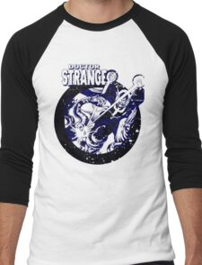 Doctor Strange • Blue & Black Men's Baseball ¾ T-Shirt