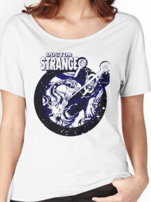 Doctor Strange •Blue & Black Women's Relaxed Fit T-Shirt
