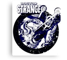 Doctor Strange • Blue & Black Canvas Print