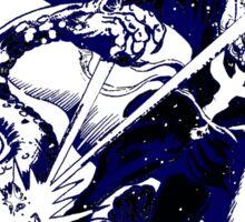 Doctor Strange •Blue & Black Sticker