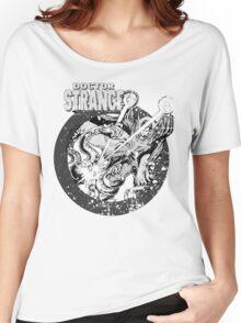 Doctor Strange •Black & White Women's Relaxed Fit T-Shirt