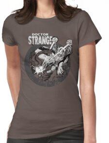 Doctor Strange •Black & White Womens Fitted T-Shirt