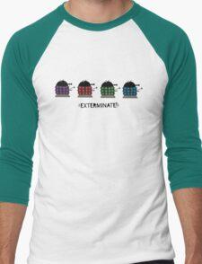 Chubby Daleks Men's Baseball ¾ T-Shirt