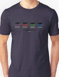 Chubby Daleks Unisex T-Shirt