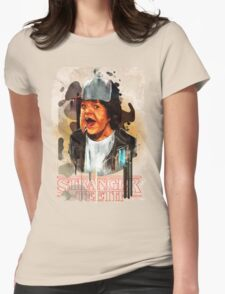 Dustin Stranger Things - Teeth  Womens Fitted T-Shirt