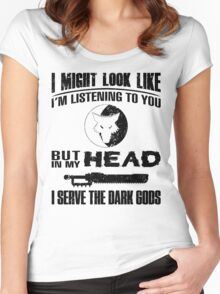 Cthonia Dark Gods - Limited Edition Women's Fitted Scoop T-Shirt
