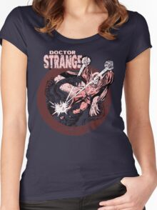 Doctor Strange • Red Tint Women's Fitted Scoop T-Shirt