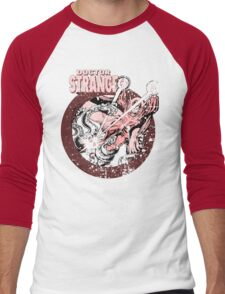 Doctor Strange • Red Tint Men's Baseball ¾ T-Shirt