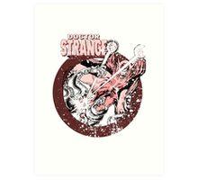 Doctor Strange •Red Tint Art Print