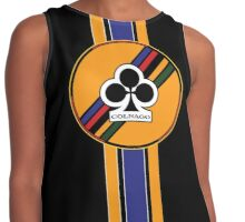 Colnago Vintage Racing Bicycles Italy Contrast Tank
