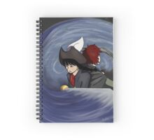 Captain and Lady Spiral Notebook