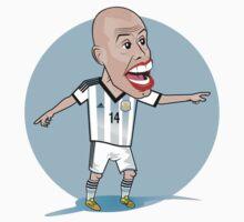 Argentina World Cup: Mascherano The BOSS!  Kids Clothes