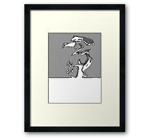 Fey Valentine Framed Print