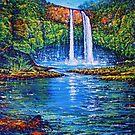 Wailua Double Falls, Kauai by jyruff